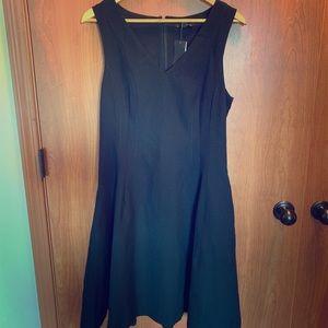 Banana republic classic black dress